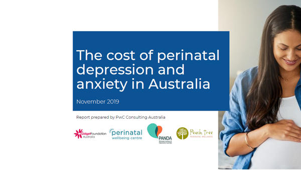 The Cost of Perinatal Depression and Anxiety in Australia
